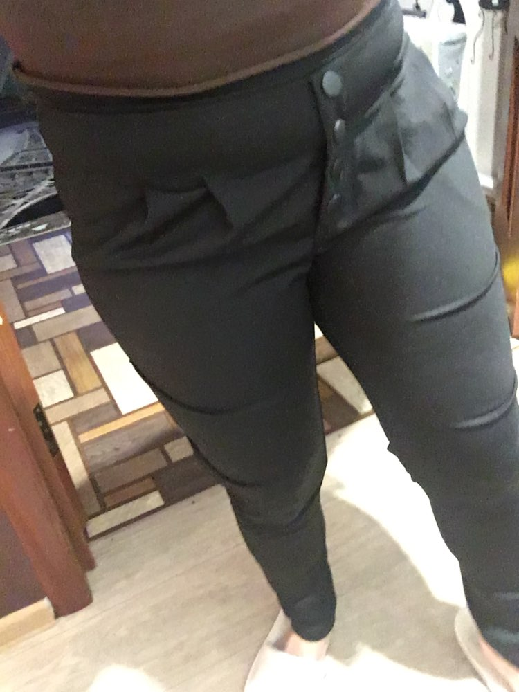 England Style Harem Pants Women Spring Autumn High Waisted Black Pants Trousers Ladies Elegant Skinny Pants Plus Size Pantalones photo review