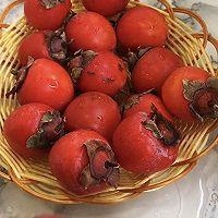 香甜柿子糯米饼的做法图解1