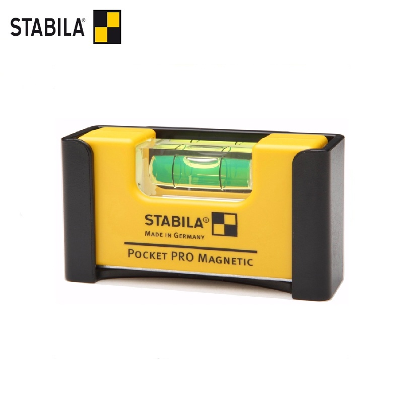STABILA Level type Pocket Pro Magnetic (1horiz., Exact. 1mm / m) Bubble level instrument Vertical magnet Horizontal ruler цены онлайн