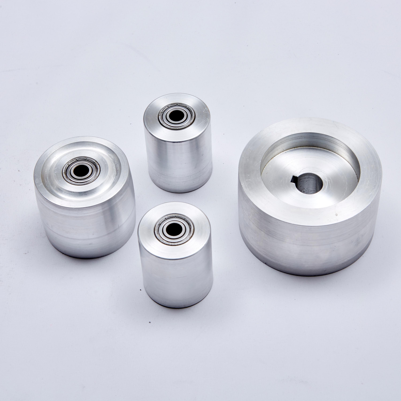 """2x72"""" Belt Grinder With Wheels SUPPORT 4 PCS CYLINDER 3/4 (19mm)"""