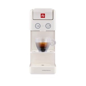 Illy coffee machine for Iperespresso capsules White Bianco Y3.3