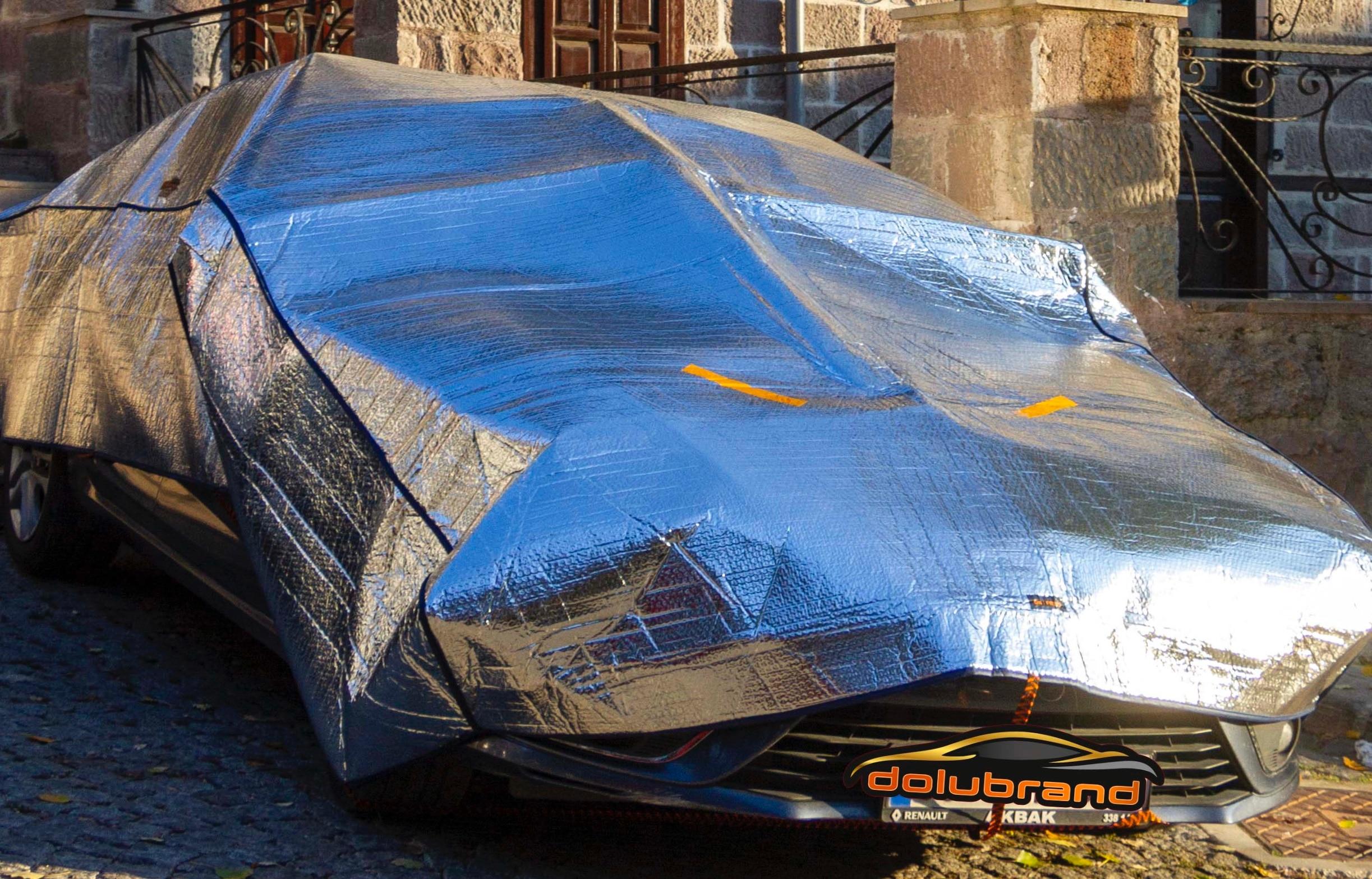 Accessoires de voiture pleine bâches de voiture universelle extérieure bâche de voiture imperméable à l'eau grêle Protection Auto couvre pour berline SUV