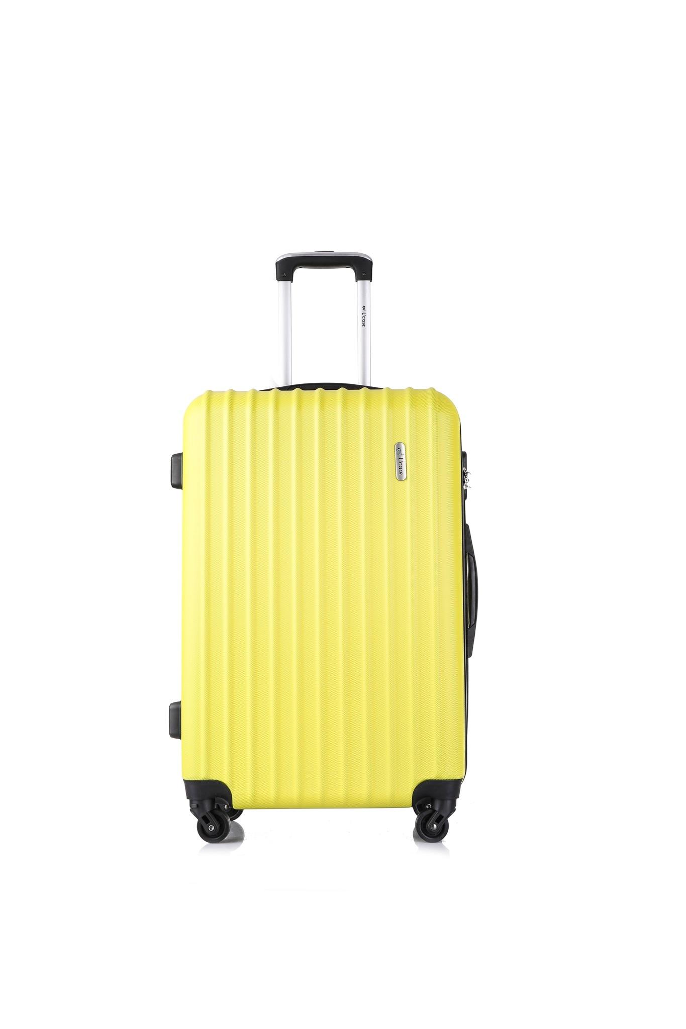 Valise à bagages jaune clair krabi jaune