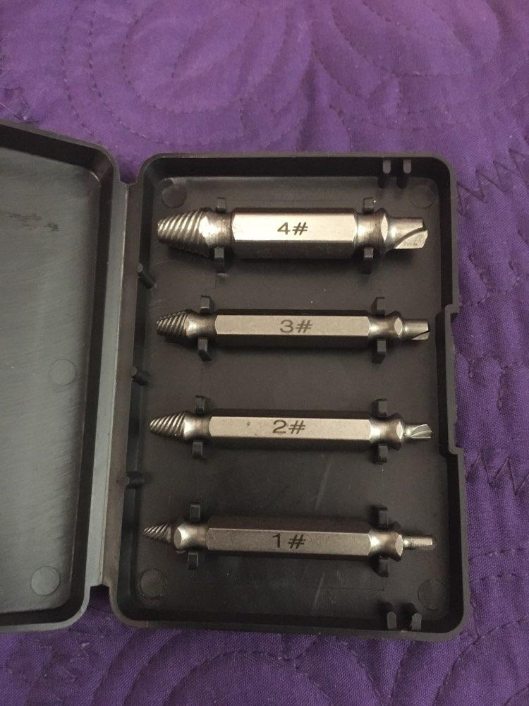 Screw Extractor(4 Pcs/5pcs/6pcs) - googstage photo review