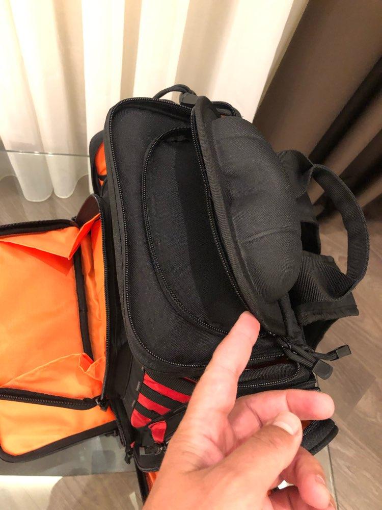 Bolsas de pesca equipamento bandejas armazenamento