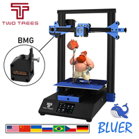 TWO TREES 3D Printer Bluer Auto Leveling Full Metal 3D Printer Drucker Big Printing Size DIY Kits Hotbed face sheild