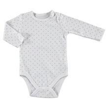 ebebek HelloBaby Little Cute Paws Baby Long Sleeve Bodysuit
