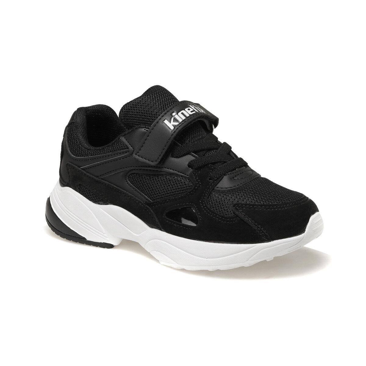 FLO PERRIGRIN 9PR Black Male Child Hiking Shoes KINETIX