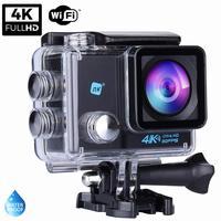 NK Grave Cámara Deportiva subacuática 4K (Ultra Alta Definición) HD 16MP, WiFi HDMI, Carcasa Impermeable 30M