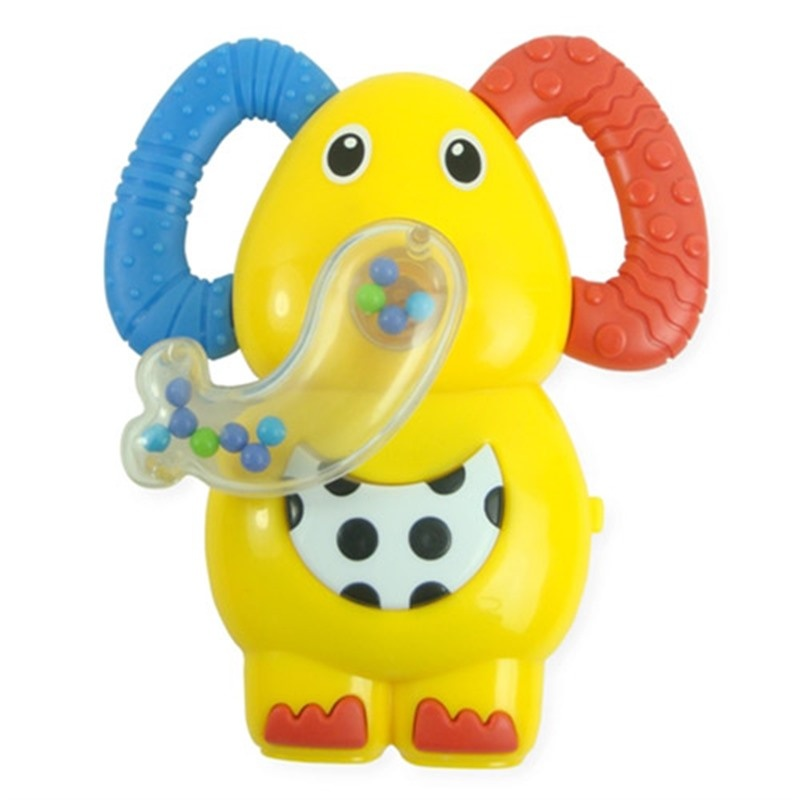 Ebebek Bondigo Musical Cute Elephant Baby Teether