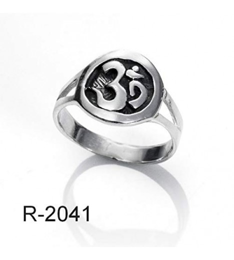 Ring Solid Silver Ohm (Made In Spain) (15)