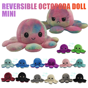 Reversible Flip Octopus Stuffed Doll Soft Party Supplies Double-sided Octopus Plush Toy Baby children kids Doll Party Favors