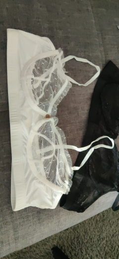 Ellolace Sexy Lace Lingerie Women's Underwear Sensual Solid Brief Sets Wireless Transparent Bra And Panty Exotic Bilizna Set photo review