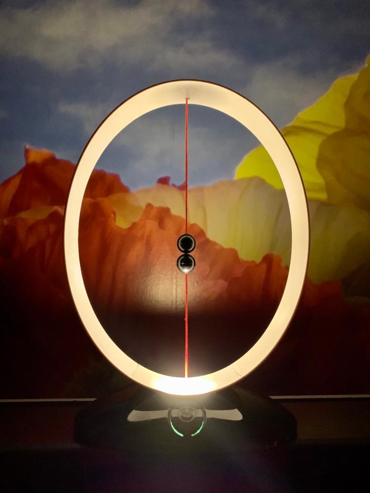 Hot Magnetic Suspension Balance Lamp USB Charging LED Simple Smart Night Light AI88