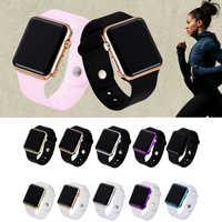 Relojes de pulsera para mujer Casual LED Digital deporte reloj de pulsera de silicona regalos de navidad reloj Masculino Relojes
