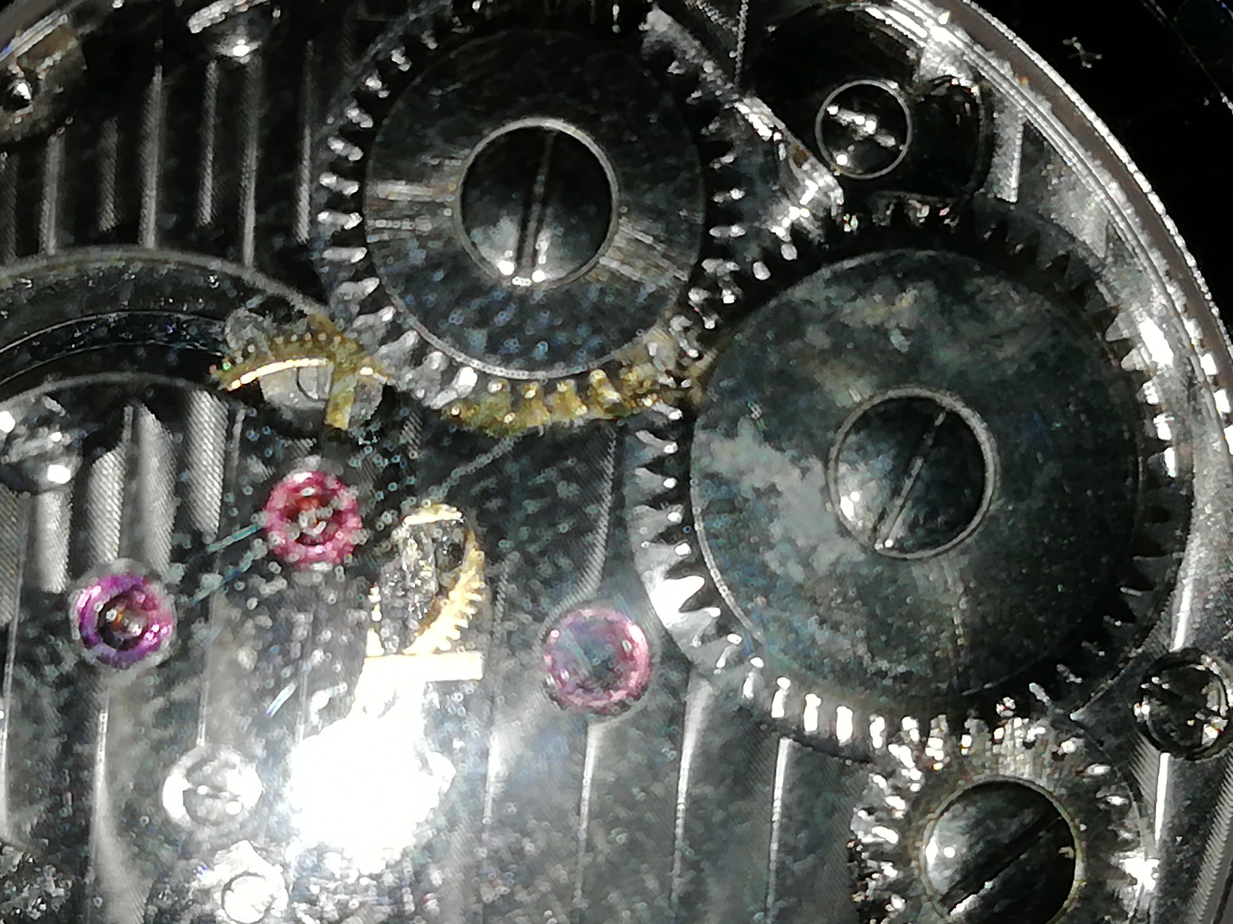 -- Esqueleto Relógio Masculino