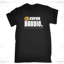 Забавная Мужская футболка модная одежда футболки super dio