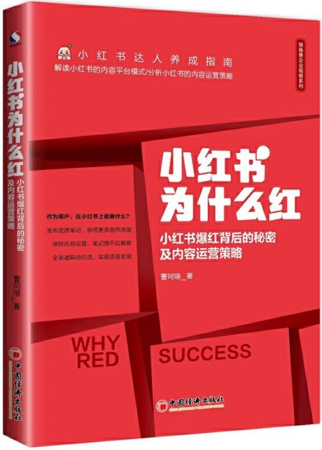 《小红书为什么红》封面图片