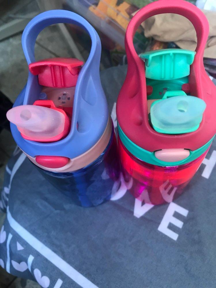 Transhome Tritan Water Bottle With Straw Kids Drinking Water Bottles For Children Kids Sports Water Bottle Bpa Free Drinkware-in Water Bottles from Home & Garden on AliExpress