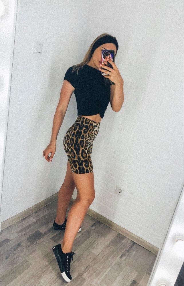 Highstreet Leopard Print Leggings - Hellopenguins