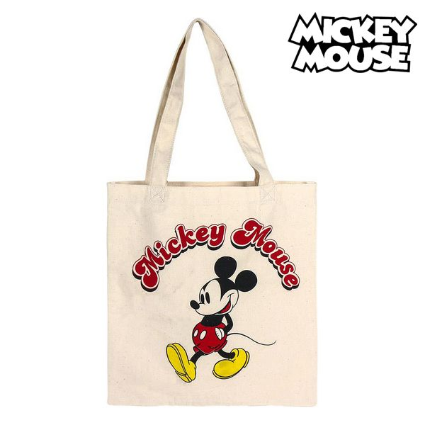 Multi-use Bag Mickey Mouse 72891 White Cotton