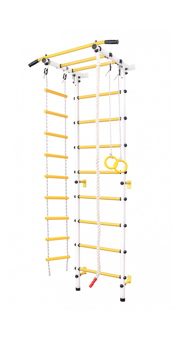 Sports Gym For Kids, Ladder For Children, шведская Wall For Children Children's Small Square 2.0 White