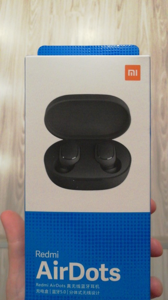 Fone de Ouvido Xiaomi Redmi Airdots Com Bluetooth photo review