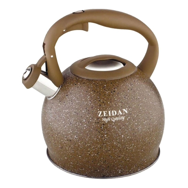 Чайник ZEIDAN Z-4135 (объем 3,5 л, нержавеющая сталь, капсулированное дно, свисток)