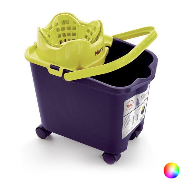 Mop Bucket with Automatic Drainer Rayen 14 L (38 5 x 39 x 25 5 cm)|Electric Floor Mops| |  - title=