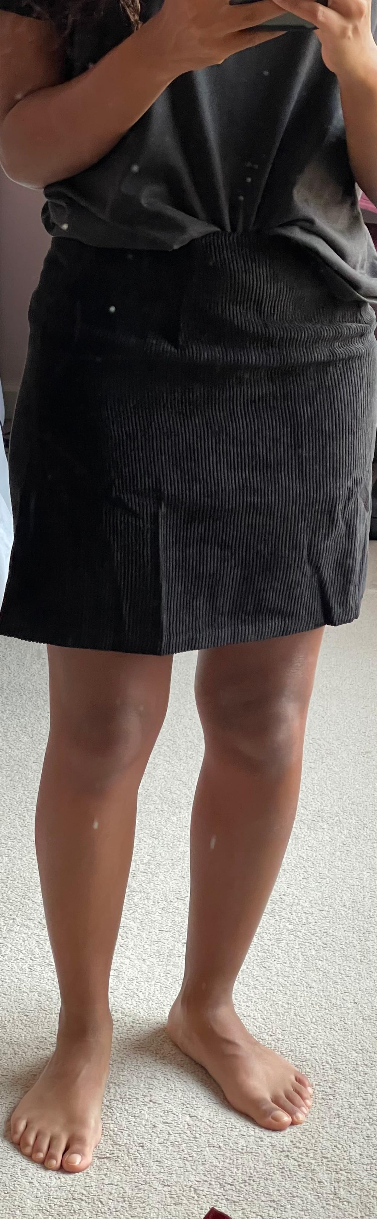 Woman corduroy skirt summer sexy mini Vintage harajuku skirts mini  slit slim high waist straight skirt ladies korean style 2020 Skirts    - AliExpress