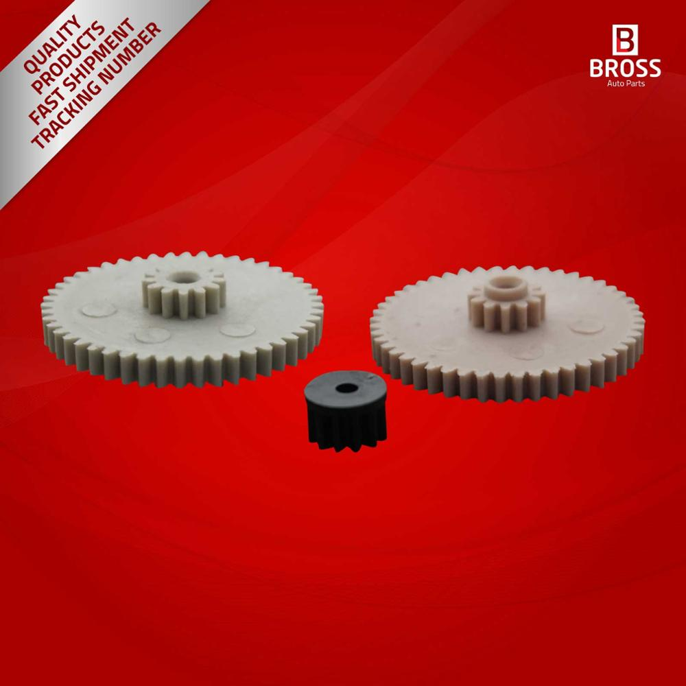 Bross BGE509-2 compteur de vitesse odomètre engrenages pour R107 W123 W126 (85MPH) miles