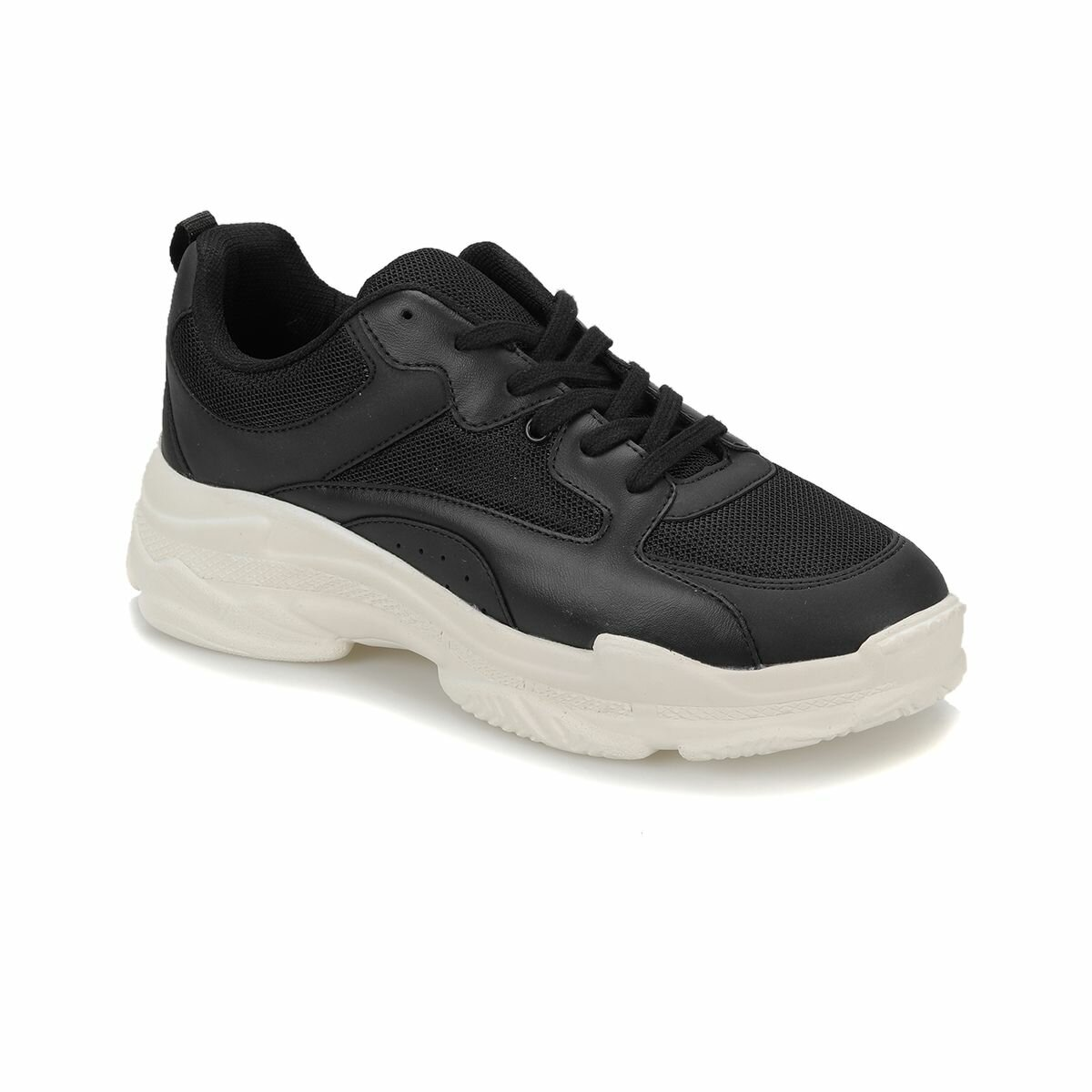 FLO BLC-BYZ Black Male Shoes Forester