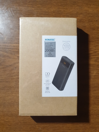 External battery Romoss Mini Ares 20 20000 mah [Official 1 year warranty, fast shipping]-in Power Bank from Cellphones & Telecommunications on Aliexpress.com | Alibaba Group