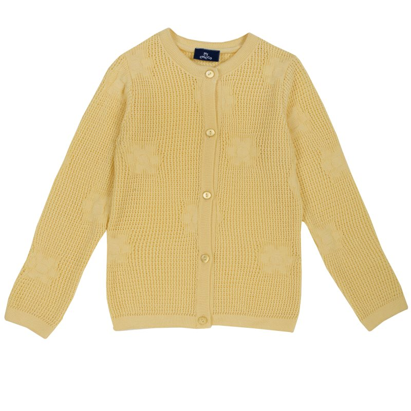 Фото - Cardigan Chicco, size 098, color yellow pants chicco size 098 color blue