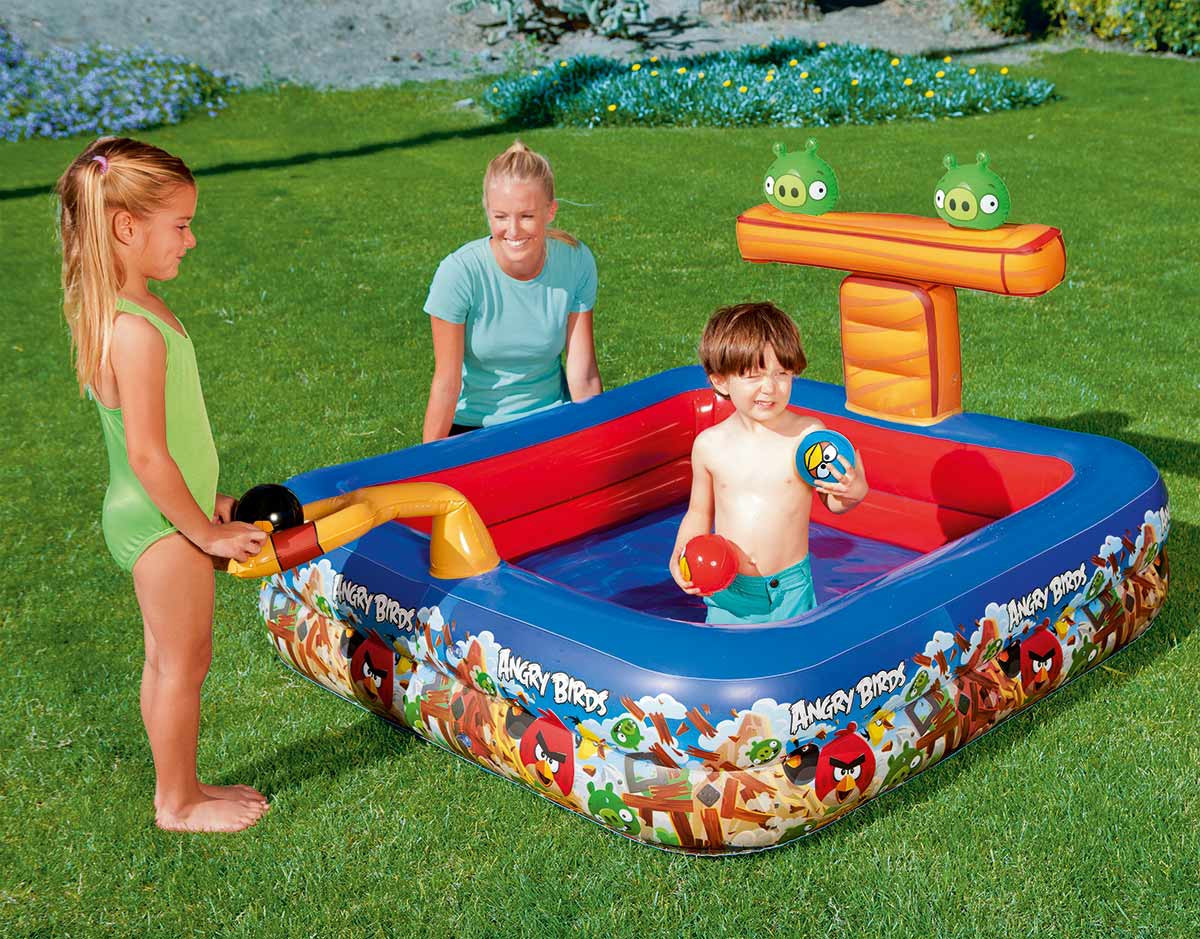 Bestway Inflatable Pool For Children-Angry Birds,-96111