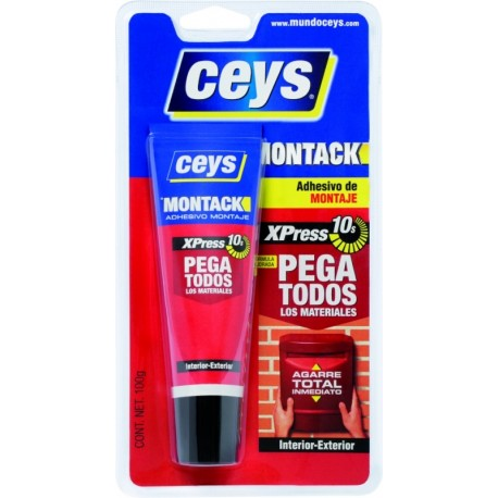 ADHESIVE MOUNT 100 ML MONTACK Express TUBE CEYS