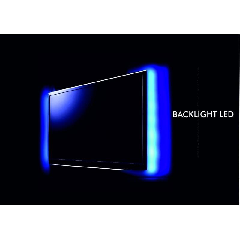 Strip LED 0, 5mtsX2 RGB Power Supply USB By To TV