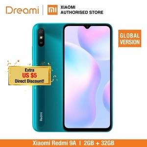 Глобальная версия Xiaomi Redmi 9A 32 ГБ ROM 2 Гб RAM (абсолютно новый/Герметичный) redmi9, redmi9a 32, смартфон, мобильный телефон