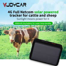 Cow Locator 4G LTE GPS Tracker with Solar Power 9000mAh Long Standby Sheep Camel Horse GPS Tracker Waterproof Real time Tracking цена в Москве и Питере
