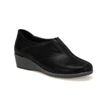 FLO TRV8227 czarne buty damskie Polaris tanie i dobre opinie Trzciny