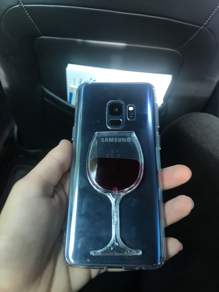 Flowing Liquid Red Wine Case for iPhone/Samsung Galaxy