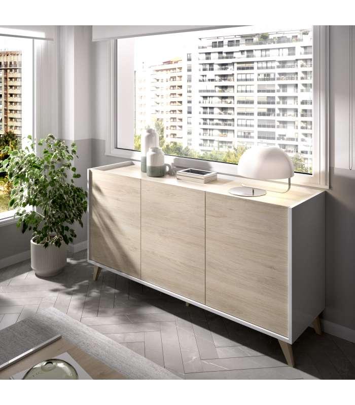 Dresser Salon Ness 3 Doors Lifelike Color/white Brightness ..