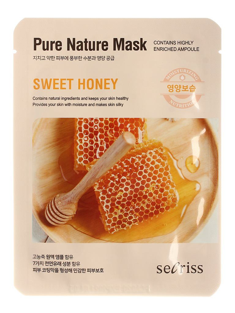 Аnskin Secriss Mask Cloth Secriss Pure Nature Mask Pack-sweet Honey 25 Ml