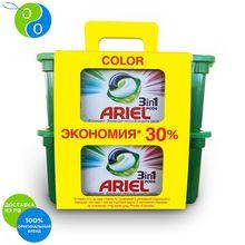 Капсулы для стирки Ariel Color 3в1 30+30 шт