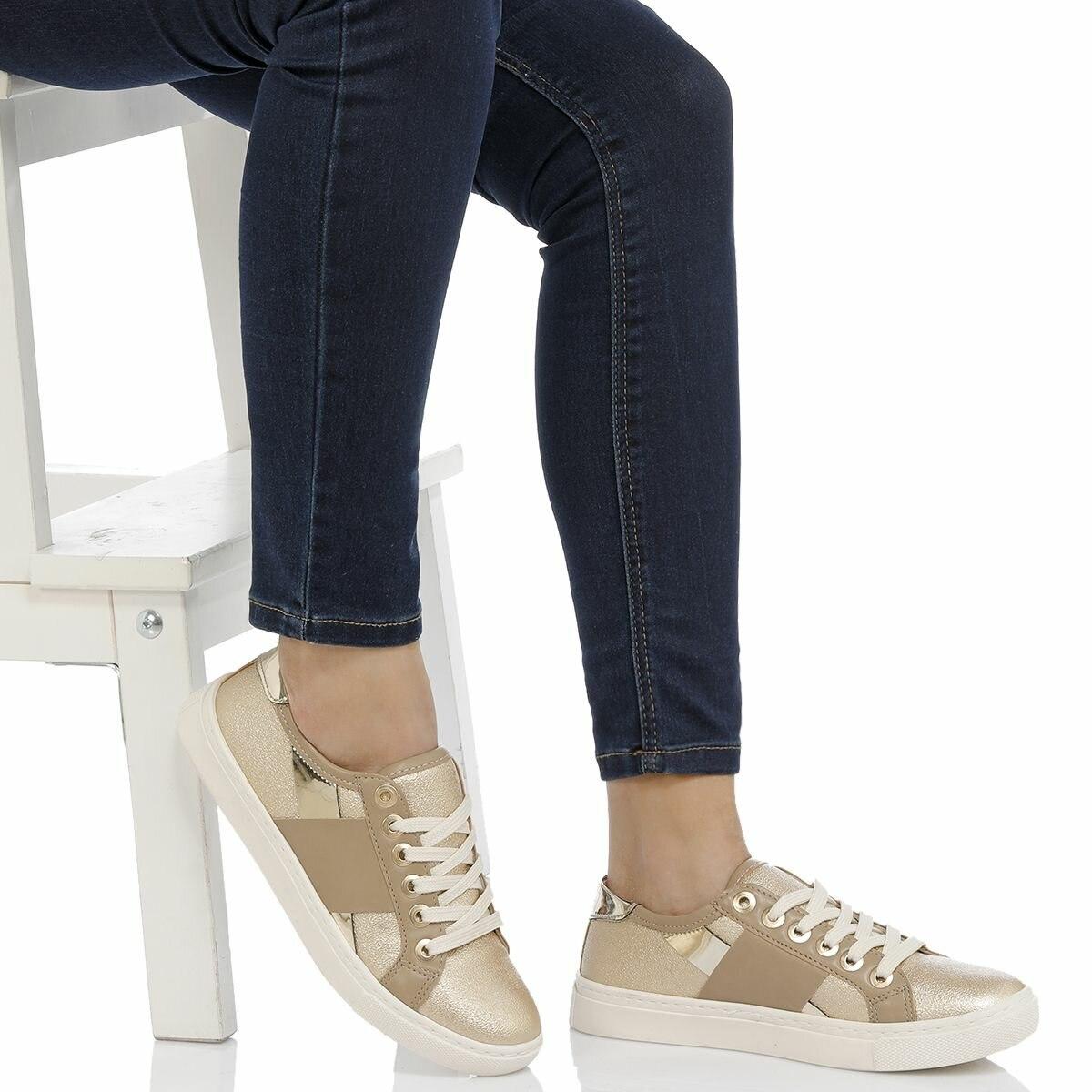 FLO 18S-165 Gold Women 'S Shoes BUTIGO