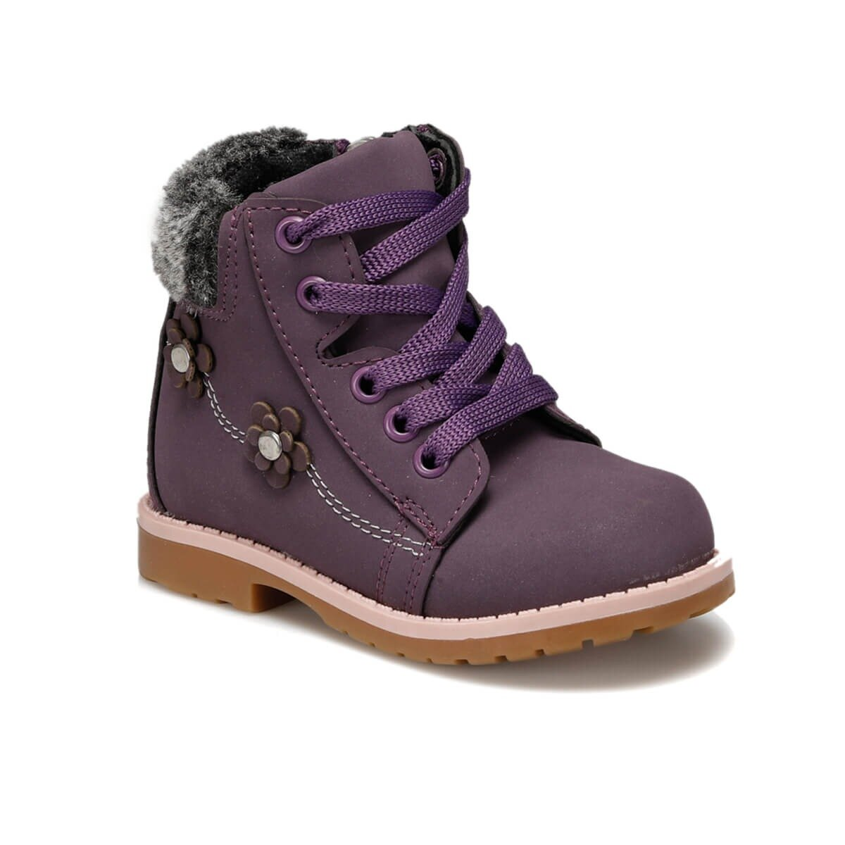 FLO MINA Purple Female Child Boots Balloon-s