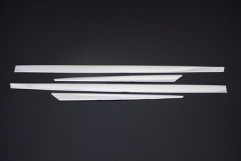 For Renault Megane 3 Accessories 2010-2016 Megane 3 Hatchback Accessories Chrome Side Door Trim Chrome Stainless Steel