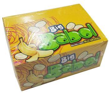 BIG BABOL prawdziwa duża bańka guma do żucia bananowy walentynkowy prezent doskonały smak wolny SHİPPİNG tanie i dobre opinie Mężczyzna 12 + y HK (pochodzenie)