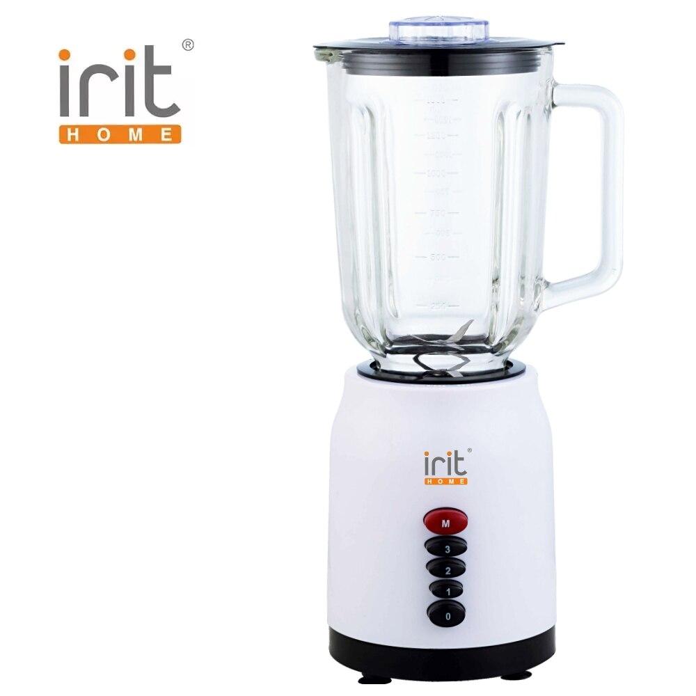Blender electric Irit IR-5511 Blender smoothies kitchen Juicer Portable blender kitchen Cocktail shaker Chopper Electric Mini blender blender железо