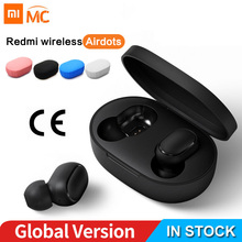 Earphone TWS Headset Auto-Charging-Box Airdots-Earbuds Xiaomi Redmi Wireless Stereo Global-Version